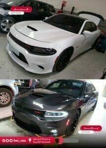 تغيير لون السيارت بالكامل في الرياض